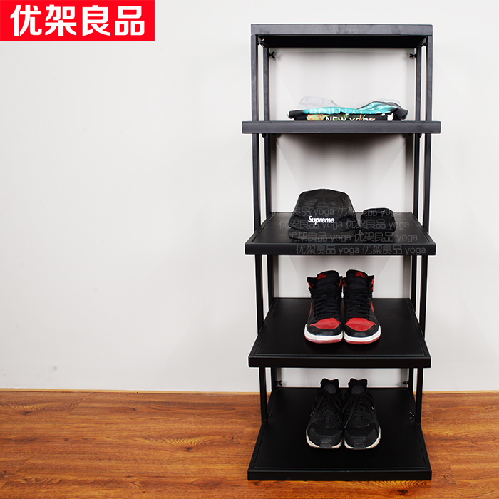 Boutique shelves show sample display shelves store portfolio container rack cabinet accessories Nakajima golf ball sample display case
