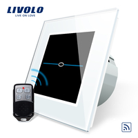 Livolo EU Standard Remote Switch 220 250V Wall Light Remote Touch Switch VL C701R 31 With
