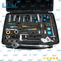 ERIKC New 40pcs Injector Repair disassembly Tool Kits Diesel Fuel Injector Dismantling Equipments For Bosch Denso Delphi Cat