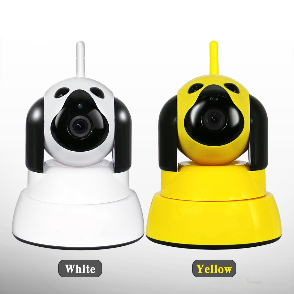 Baby Monitor IP Camera WiFi Wireless Smart Dog Security Camera Micro SD Network Rotatable Defender Home