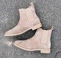 Homens da moda botas de camurça tornozelo Barato mens sapatos de camurça botas de Moda homens botas