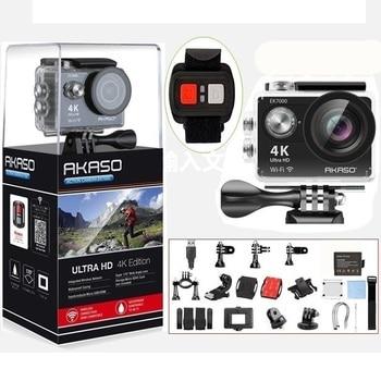 AKASO EK7000 4k WIFI Outdoor Sport Action Camera Ultra HD Waterproof DV Camcorder 12MP Extreme Underwater Selfie Stick Tripod
