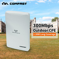 Long range Comfast Wireless Outdoor wifi CPE 300mbps WIFI signal booster Amplifier AP Dual 16dBi Antenna wi fi access point