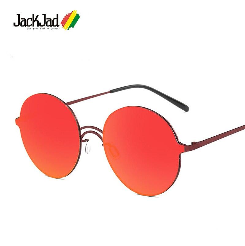 JackJad 2017 New Mode Vintage En Métal Ronde Style BY SON lunettes de  soleil Couleur Miroir Marque Conception Classique des Lunettes De Soleil  Oculos De Sol 4506de81a6ff
