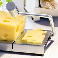 Cheese Slicer Stainless steel Butter Cutting Board Cake Dessert cutting tools foie gras Cheese cutter Kitchen equipment 1pc