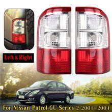 Задний фонарь тормозной лампы w/провода жгут для Nissan Patrol GU серии 2 2001 2002 2003 2004