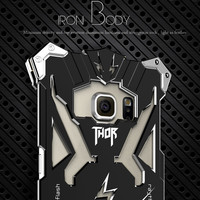 Simon Design Metal Aluminum Tough Armor THOR IRON MAN Phone Cases For SAMSUNG Galaxy Note 3