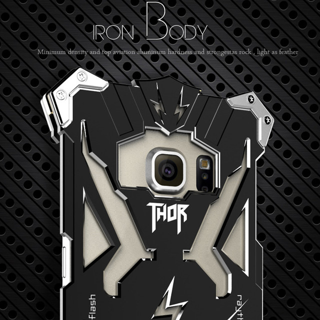 578abdfbc0f Simon Design THOR IRON MAN Cover Case for SAMSUNG Galaxy S7 Edge S6 S6 Edge  Plus