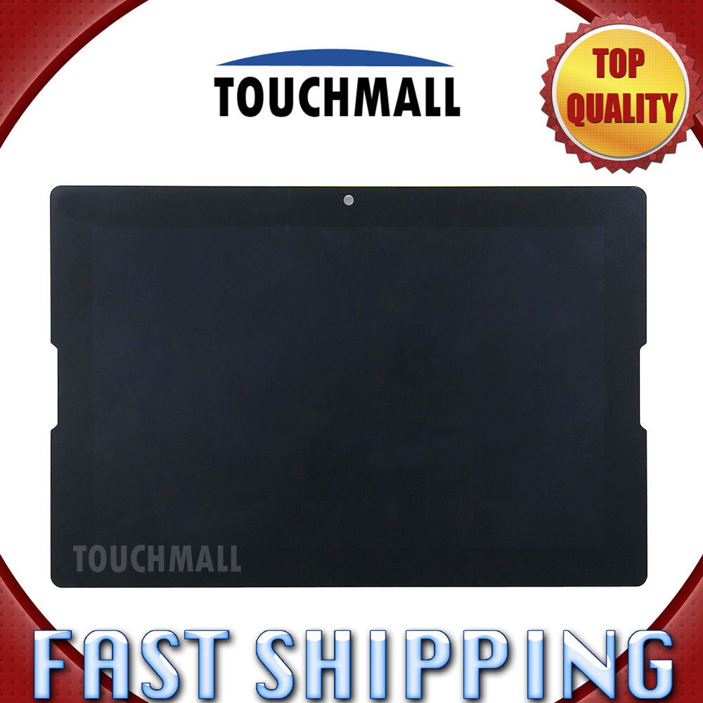 For Lenovo Tab A10-70 A7600 Replacement LCD Display Touch Screen Digitizer Glass Assembly 10.1-inch Black For Tablet ipartsbuy lcd screen touch screen digitizer assembly replacement for lenovo lemon k3 k30 t