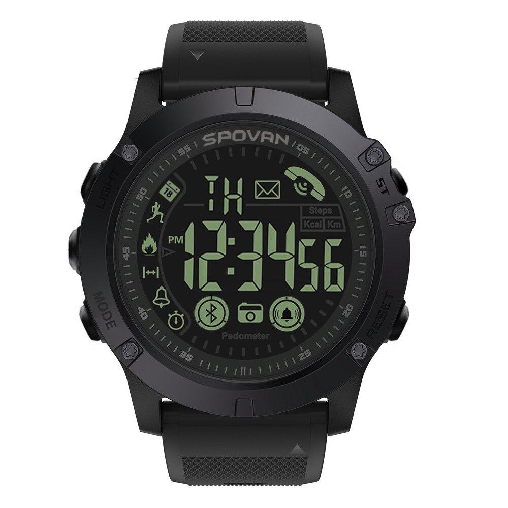 Insignia de Smartwatch resistente 33-Mes de tiempo de espera de 24 h-Vigilancia de las mujeres de los hombres reloj relojes de pulsera de Fitness ver