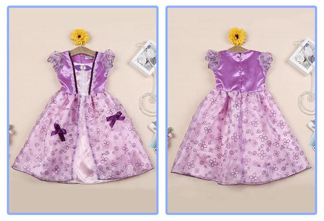 Halloween Princess Dress Rapunzel Aurora Belle and more