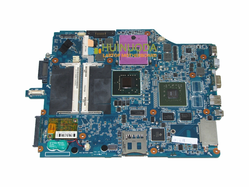 A1273689A MBX-165 laptop motherboard for sony vaio VGN-FZ MS90 1P-0073100-8012 GL960 NVIDIA G86-750-A2 DDR2