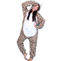 Hot Cosplay Pyjamas Tier Kostüm Erwachsenen Onesie Nachtwäsche Alle In Einem Frau Männer Party Kostüme Nachthemd Leopard Bär pyjamas