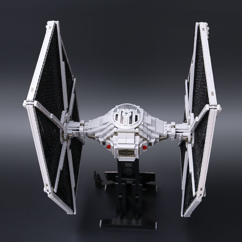 Lepin 05036 star 1685pcs wars Tie Building Fighter Educational Blocks Bricks legoINGlys Compatible 75095 Brithday Gifts lepin 05036 1685pcs star wars tie fighter building educational blocks bricks toys compatible legoinglys 75095 gifts