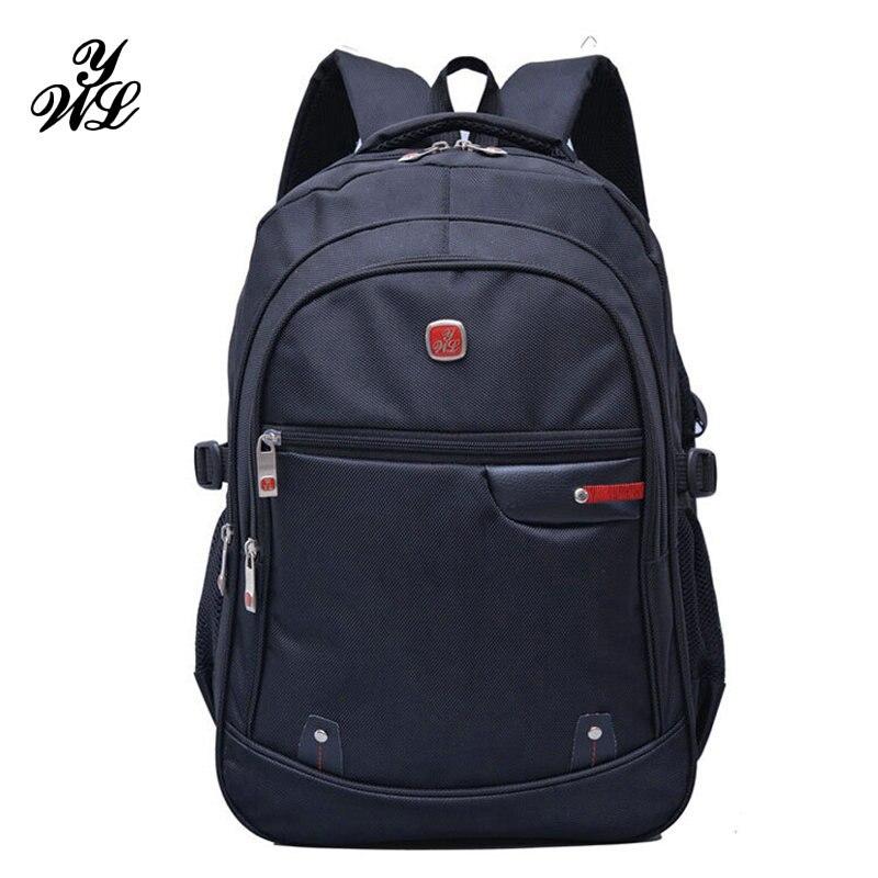 Вейль 3 этаж ноутбук рюкзак 15.6 дюймов Водонепроницаемый отдыха Школьные ранцы мужские рюкзаки школьная сумка для подростков 2017, Новая мода…