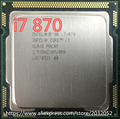 Original lntel Processor i7 870 Quad Core 2.93GHz TDP 95W LGA 1156 8MB Cache Desktop CPU (working 100% Free Shipping)