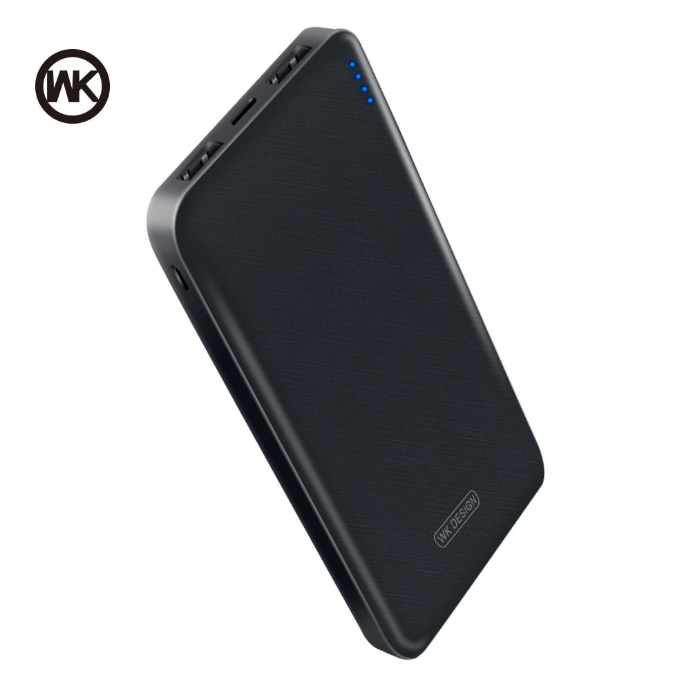 WK Mini Power Bank 10000mAh Powerbank for Xiaomi Power Bank Poverbank Power Supply Unit External Battery for iPhone AccessoriesWK Mini Power Bank 10000mAh Powerbank for Xiaomi Power Bank Poverbank Power Supply Unit External Battery for iPhone Accessories