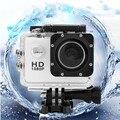 [Conjunto completo] Câmera de Vídeo de Ação esporte Full HD 1080 P À Prova D' Água Capacete da motocicleta da Bicicleta Cam DV kamera deportiva Camcorder DVR