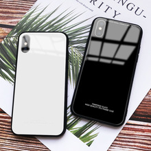 Wholesale price Luxury for apple 7 8 XS Plating Edge Tempered Glass Phone Case iPhone X 6 i6s Plus XR MAX Cover