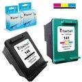 2PK,Ink Cartridge for HP 140 141 Officejet J6405 J6410 J6413 J6415 J6424 J6450 J6480 J6488 Deskjet D4263 D4268 D4360 D4363 D4368