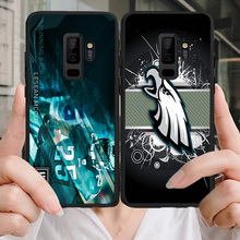 Yinuoda Phone Case For Philadelphia Eagles Samsung Galaxy S10 S9 8Plus S6 S7 Edge Carson Wentz Black Soft TPU Lite