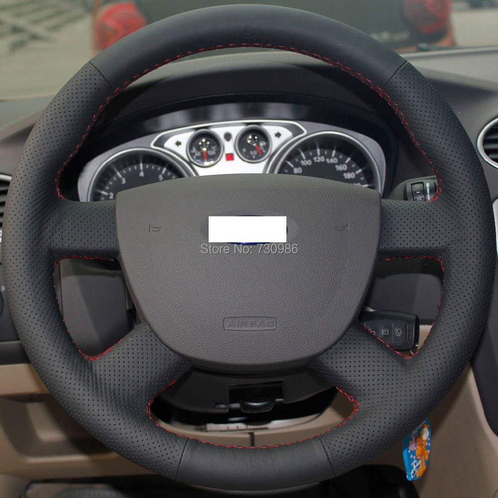 steering wheel cover for ford focus 2 2005 2012 xuji car special hand stitched