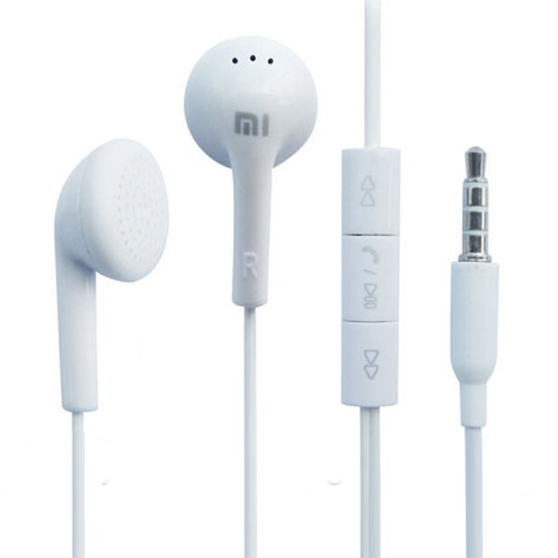 2016 New Hot Sales Best Quality Mi Earphone Headphone Headset for iphone Samsung Mini Ipad PSP MP3 MP4 With Remote And MIC