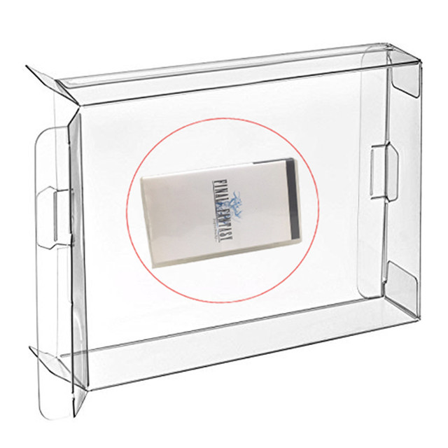 Ruitroliker 30Pcs Clear Box Case Sleeve CIB Protector for PSP Games Cartridge Box