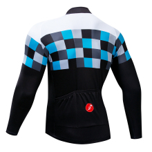 2019 men Cycling Clothing MTB Bike Jersey Warm Long Sleeves Autumn Bicycle Clothing Ropa Ciclismo top jersey