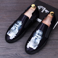 Breathable Male Cow Suede leather Loafers Moccasins Breathable Slip On Flats Comfortable driving shoes Men Casual shoes 022