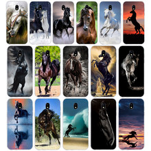 324WE The best horse Soft Silicone Tpu Cover phone Case for Samsung j3 j5 j7 2015 2016 2017 j330 j2 j4 prime j4 j6 Plus 2018(China)