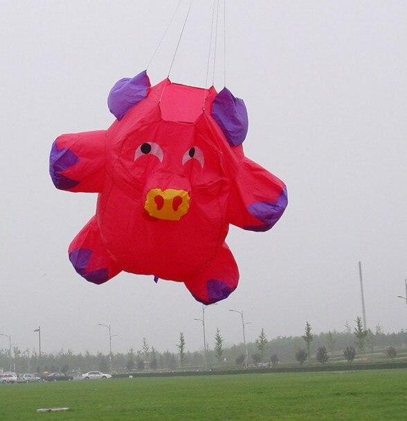 Nouvelle arrivée 3D haute qualité en NYLON vêtements de puissance guirlandes/cerfs-volants gonflables logiciel cerf-volant éléphant cerf-volant avec des outils volants