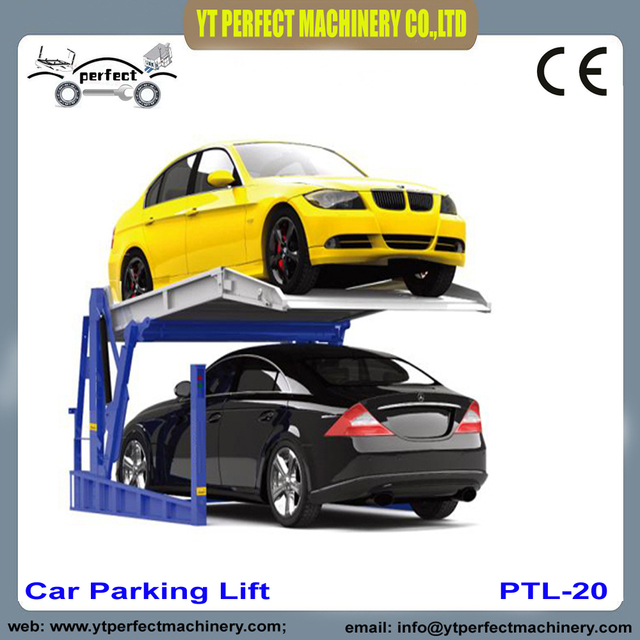 Car Parking Lift Tilting Type Plt 250 For Home Garage In Car Jacks