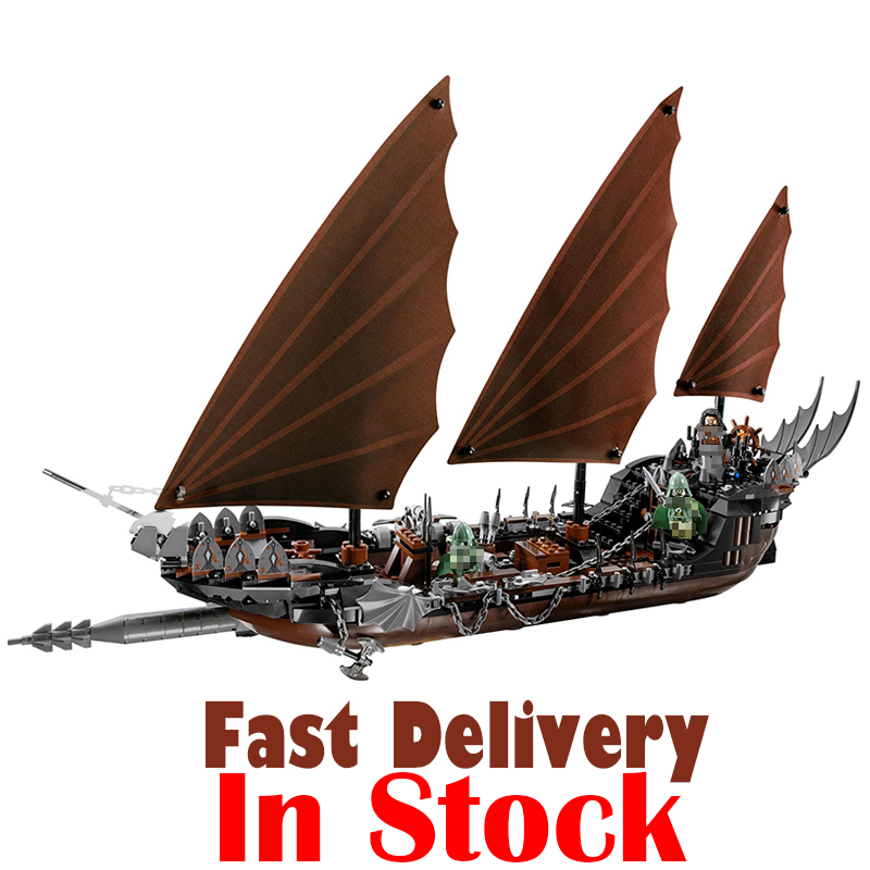 Lepin 16018 756pcs Genuine The lord of rings Series The Ghost Pirate Ship Set Building Block Brick Toys for children gift 79008 lepin 16018 756pcs genuine the lord of rings series the ghost pirate ship set building block brick toys compatible legoed 79008