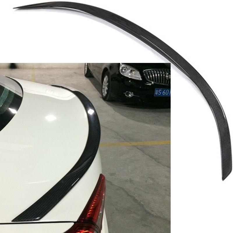 Novitec Style Ghibli Rear Spoiler Boot Spoiler Carbon Fiber Trunk Wing Trunk Lid For Maserati Ghibli 2013~2015