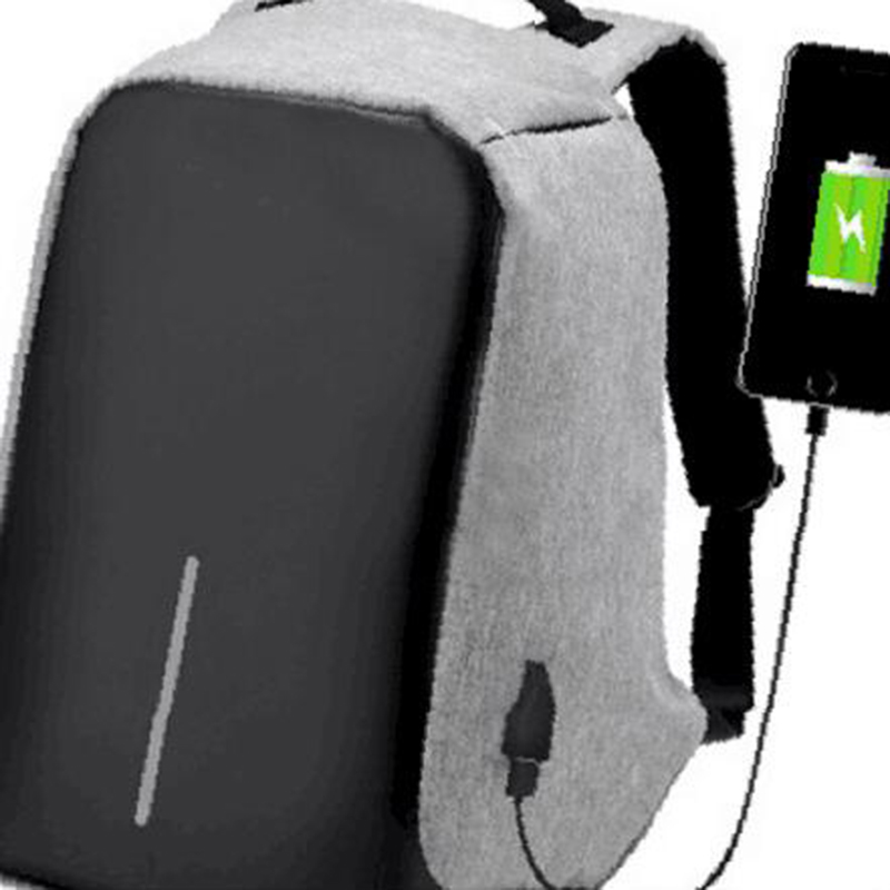 donqian multi-functional USB charging anti-theft business backpack mens travel bag