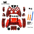 Ugame Hydro Crazy Red skull Full Controller Shell Case Housing for Microsoft Video Game Xbox One Wireless Controller
