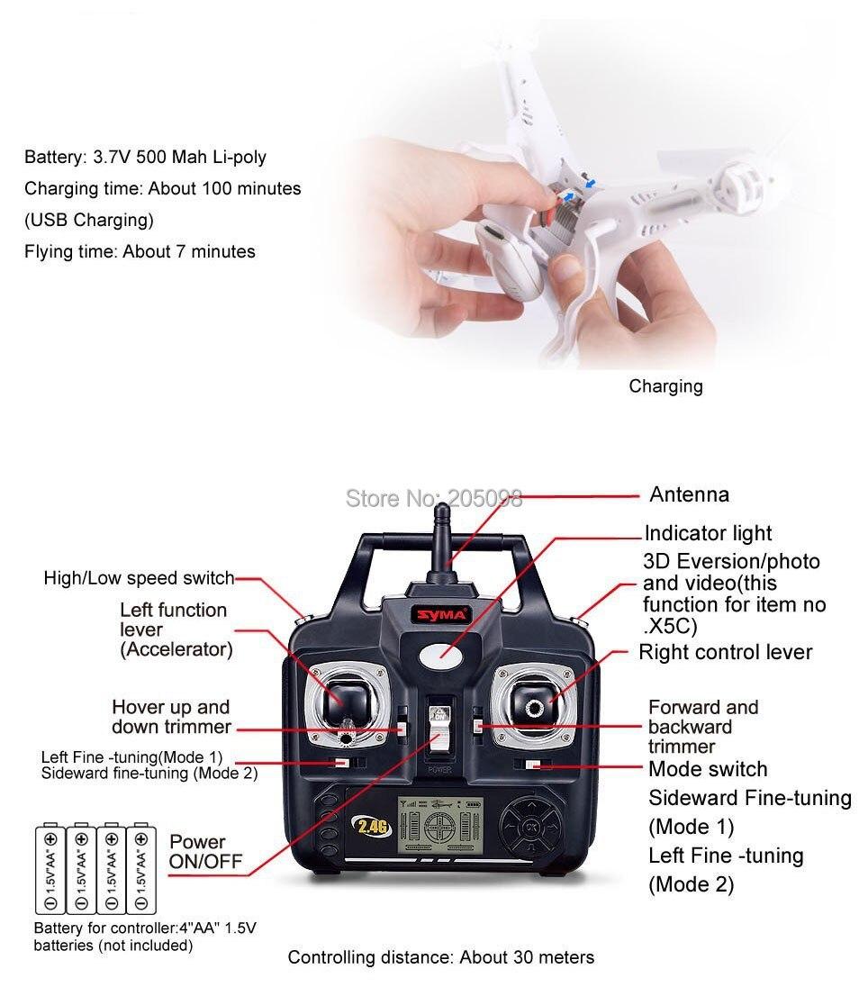 4 camera x5c gyro 11