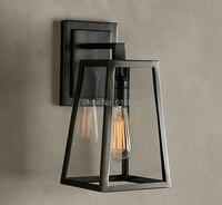 RH Loft Industrial Vintage American Style Lustre Edison Copper Wall Sconce Lamp Bedside Mirror Coffee Modern Home Decor Lighting