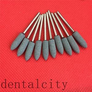 Image 4 - Pink/White/Green 100PCS Assorted Dental Lab Gravel Ceramic meium FG Burs Polisher 2.35mm
