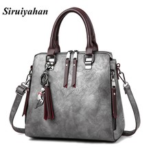 Siruiyahan Luxury Handbags Women Bags Designer Women Messenger Bags Crossbody Fashion Solid Zipper Women Leather Handbags(China)