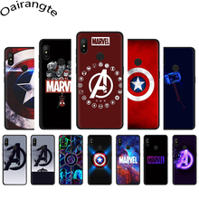 Marvel avengers Logo Soft Phone Cover Case for Xiaomi Mi A3