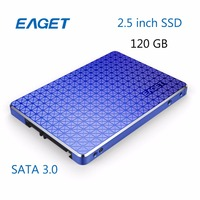 EAGET S500 120GB SSD SATA 3 0 Internal Solid State Drives Blue TLC Shockproof High Speed