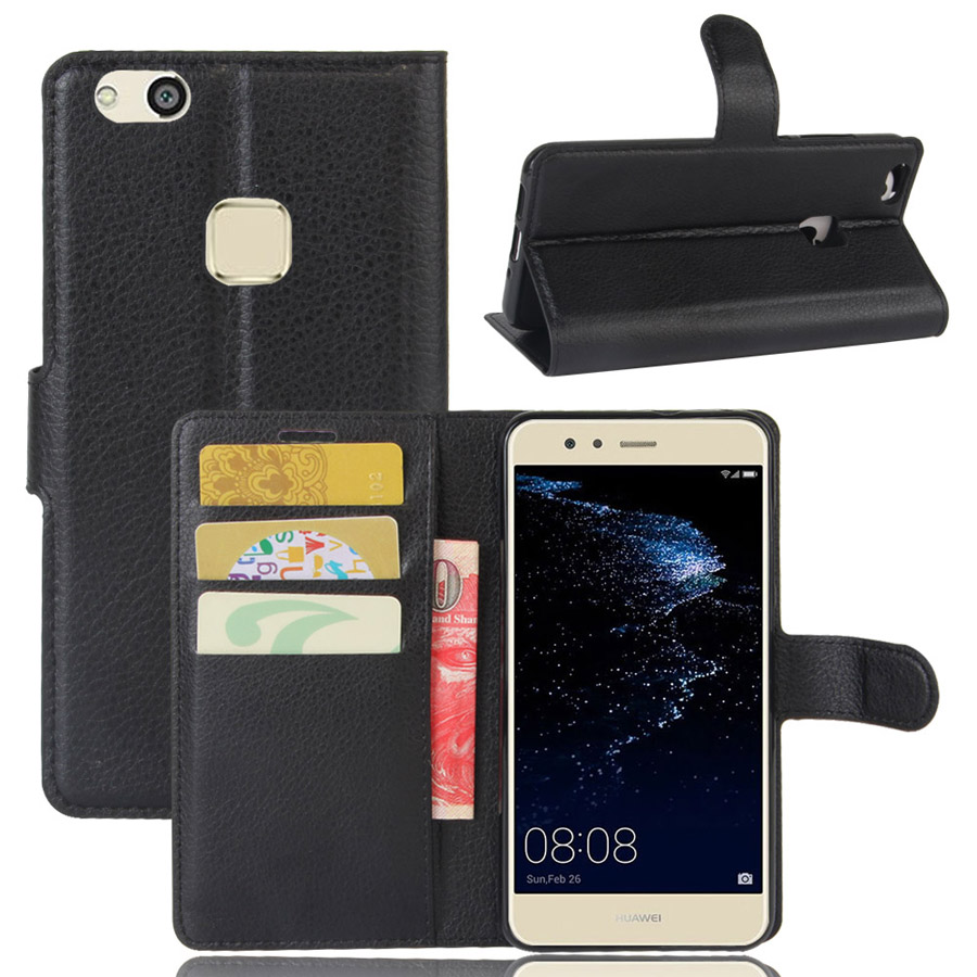Fashion Wallet PU Leather <font><b>Case</b></font> Cover For <font><b>Huawei</b></font> P10 Lite <font><b>Huawei</b></font> Nova Lite Flip Protective <font><b>Phone</b></font> Back Shell With Card Holders