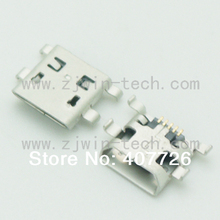 10 ШТ./УПАК. Micro USB Jack2.0 таблетка телефона зарядки гнездо 5pin DIP (МОЙКА ТИП Косой) супер крошечной монтажа разъем USB