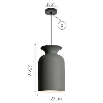 Nordic Internet Cafe Chandelier Simple Restaurant Lamp Bar Lamp Creative Office Light Living Room Decoration Lamp Free Shipping