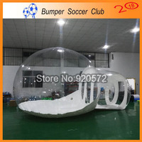 Free shipping! Free Pump ! outdoor inflatable bubble dome tent cheap inflatable bubble camping tent for sale