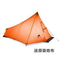 3F ультра легкий только 15D покрытием кремния Cangqiong 1 открытый палатка с отпечатком ноги