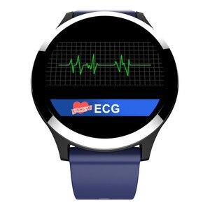 Image 2 - Новинка 2019, умные часы Interpad на Android iOS, ЭКГ PPG, монитор артериального давления, пульсометр, умные часы для Huawei Lenovo Xiaomi iPhone