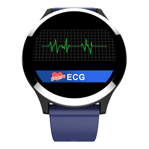 Image 2 - 2019 Interpad New Android iOS Smart Watch ECG PPG Blood Pressure Heart Rate Monitor Smartwatch For Huawei Lenovo Xiaomi iPhone